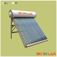 Non pressure solar water heaters with stainless steel inner tank SKI-NB with CE & ISO from SKI SOLAR