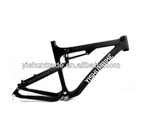 "2014 YISHUNBIKE special offer 26"" dual suspension MTB carbon fiber bike frame BSA custom painting mountain bike frame YS-039"