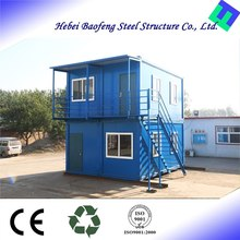 Environmental Friendly Popular Flat cabin log plan chinese low cost prefabricated house