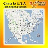 Shanghai/Ningbo dropship service to FBA Amazon warehouse