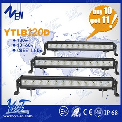 Latest version Day Off road waterproof led working light bar led IP68 120W