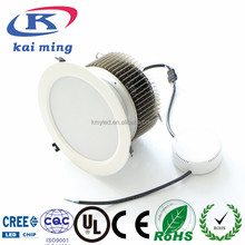 8 inch / 10 inch round flush mounted 90lm/w led downlight - high lightness down light recessed