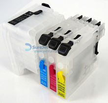 J100 refillable ink cartridge for brother LC539 LC535 used for dcp- j100 refill cartridges