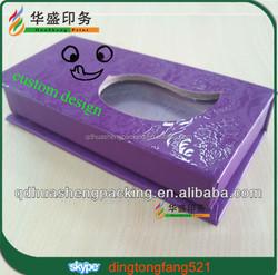 Mink elegant luxury custom design eyelash packaging box