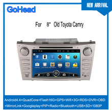 For Old Toyota Camry CAR DVD GPS MP5 Radio 9inch 10.2inch 3g Wifi GPS FM USB Android 4.4 Navigation