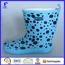 Fancy Design Waterproof Rubber Golf Rain Boots