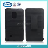Belt clip phone case holster combo case for Samsung N915