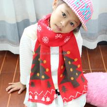 2015 hot sale cute kid's cashmere scarf hat set
