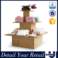 tailor made shop decoration dry cleaning clothing display rack