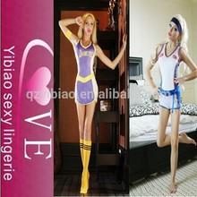 Oem diseño simple ropa deportiva para chicas sexy deportes trajes