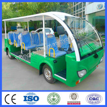New designed electric car for parks 11 seats petrol tourist car