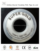 ptfe seal waterproof tape for pipe water blocking tape