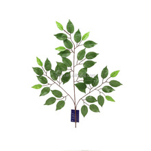 YASHEN0067 cheap price artificial ficus tree branches fake fabric nitida leaf decoration