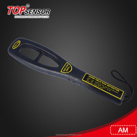 Topsensor Detection System EAS AM Handheld Metal Detector with ear phone