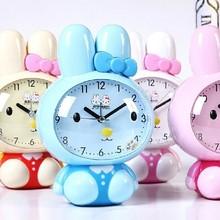 Unique funny Rabbit running alarm clock