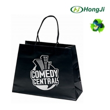 Dongguan Black OEM Jeans Package Bag Recycle Kraft Paper Bag