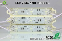 2015 NEW LED! 3 chips 2835 led module with lens led lighting products