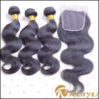 New products wholesale brazilian virgin hair extension,virgin brazilian hair bundles with closure