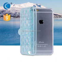 Transparent Crystal Clear TPU cell phone case mobile phone covers suitable for lenovo a600e for iphone 6 case
