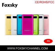 Foxsky portable universal backup battery charger