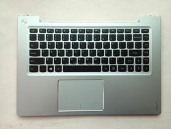 Free shipping For Lenovo U430 U430P Laptop Keyboard US Silver