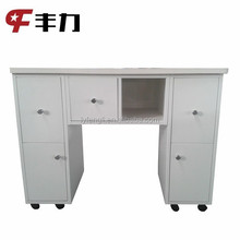 Customized modern design metal manicure table from China supplier