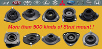 auto parts front axle strut rubber mount for brand car 0001HD124