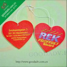 Manufacturers selling eco friendly design customized car paper air fresheners