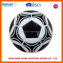 personalized PU machine stitched soccer ball with BSCI ICTI cetificate