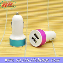 dual usb car charger, wholesale car charger adapter for iphone ipad