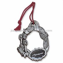 Fashion Christmas ornament with lace hanger