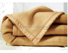 Qualitative king/queen/twin sizes Wholesale factory Sale Super soft wool blanket