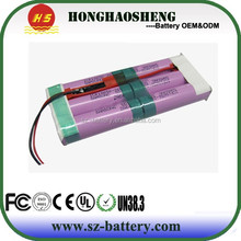 3.7V 18ah replacement power tool battery packs flat lithium ion battery