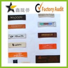 2015 professional custom woven label garments labels lahore