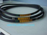 A,B,C,D,E wrapped,classcial cogged rubber V-belt
