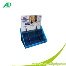 New skin fade cream counter display stand for skin care cosmetic advertising whole/retail pop sales