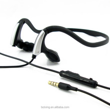 Neckband headset sports headphones with deep bass sound and online MIC