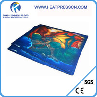 big size sublimation rubber table pad