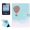 Factory price flip leather for ipad 4 case with creative design