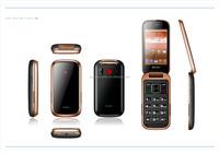 3.2 inch quad band gps tracker flip senior phone 2015 new mobile phones