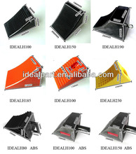 Rubber wheel chock stopper with U handle