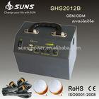 2015 new design uso doméstico sistema solar kits de energia solar 20 W