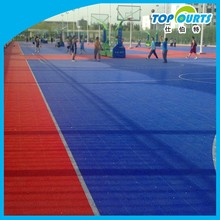 Wholesale cheap movable high quality colorful pp basketball flooring