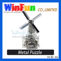 IQ Game DIY Dutch Windmill Puzzle Game For Adults