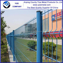 china manufacturer new product Curvy welded wire mesh fence/ PVC curvy welded fence/galvanized curvy welded fence for hot sale