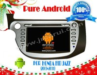 Android 4.2 car audio dvd gps system with Capacitive touch screen for HONDA FIT/JAZZ (2009-2011), 3G ,WIFI ,support