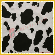 2014 NEW Woven cow printed cotton plain fabric