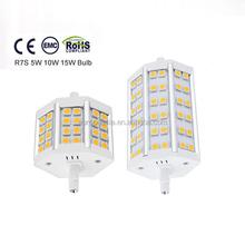 alibaba best seller R7S 5W led filament candle bulb E12 led light