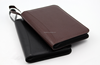 High quality A5 zip pu leather portfolio/folder with calculator and notepad notebook with logo