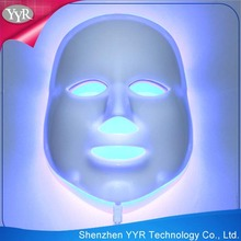 YYR hotseller 3 color facial care equipment led therapy mask